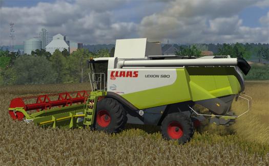 CLAAS Lexion 580 by Shangri66