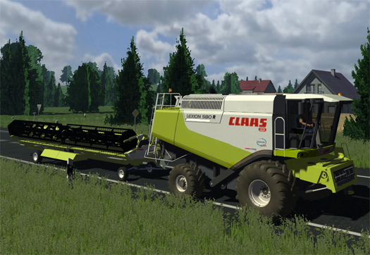 CLAAS Lexion 580R Pack (Washable)