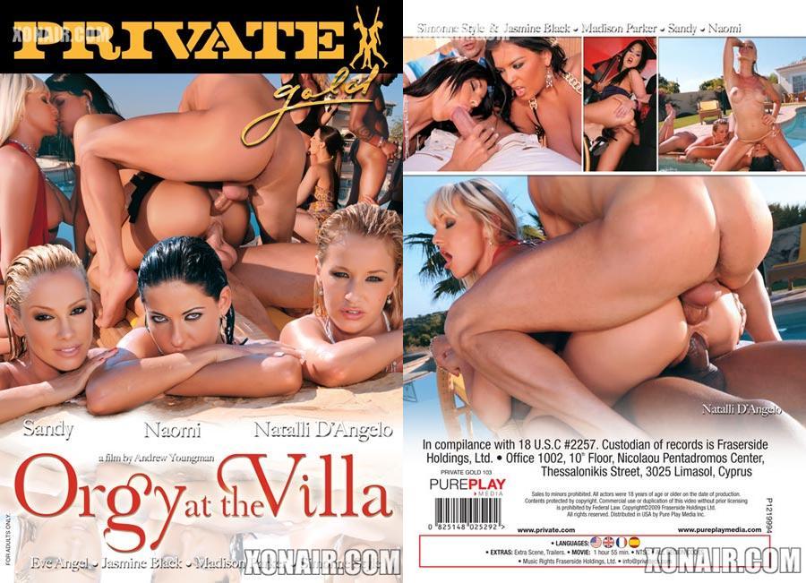 Cast orgy at the villa