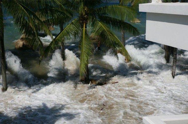 Tsunami widziane z balkonu 4