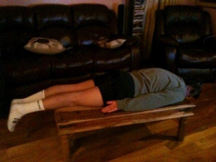 Planking - zabawa w leżenie 86