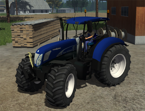 New Holland T7070 Blue Power