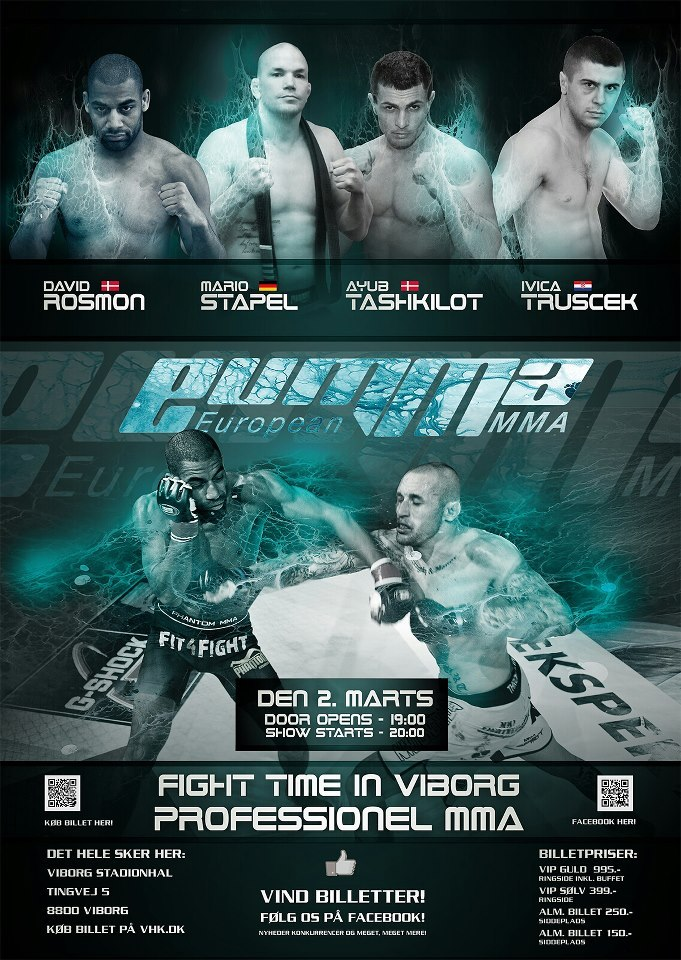 Rosmon vs. Stapel bei European MMA.