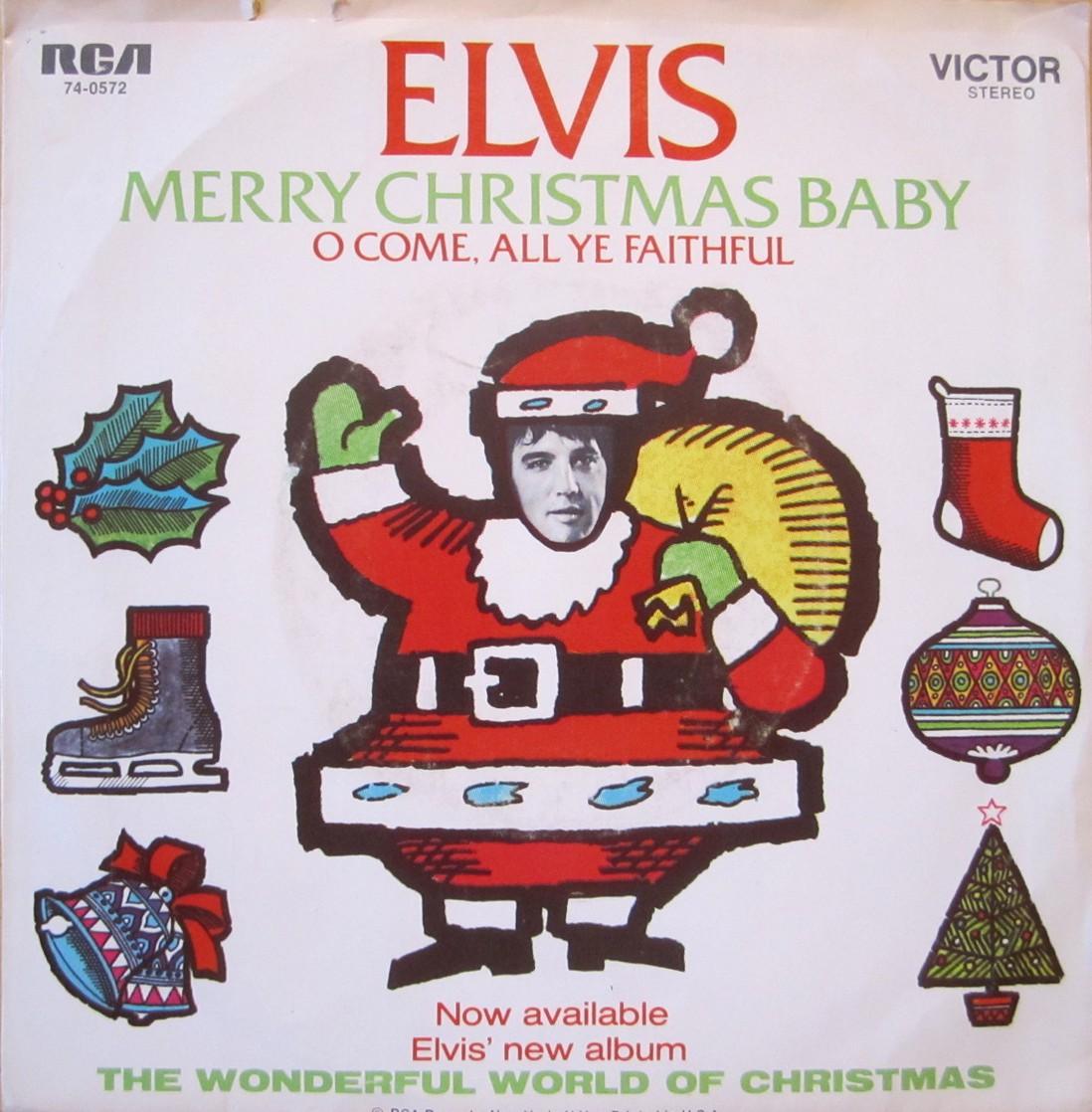 Merry Christmas Baby / O Come All Ye Faithful 74-0572arkuqh