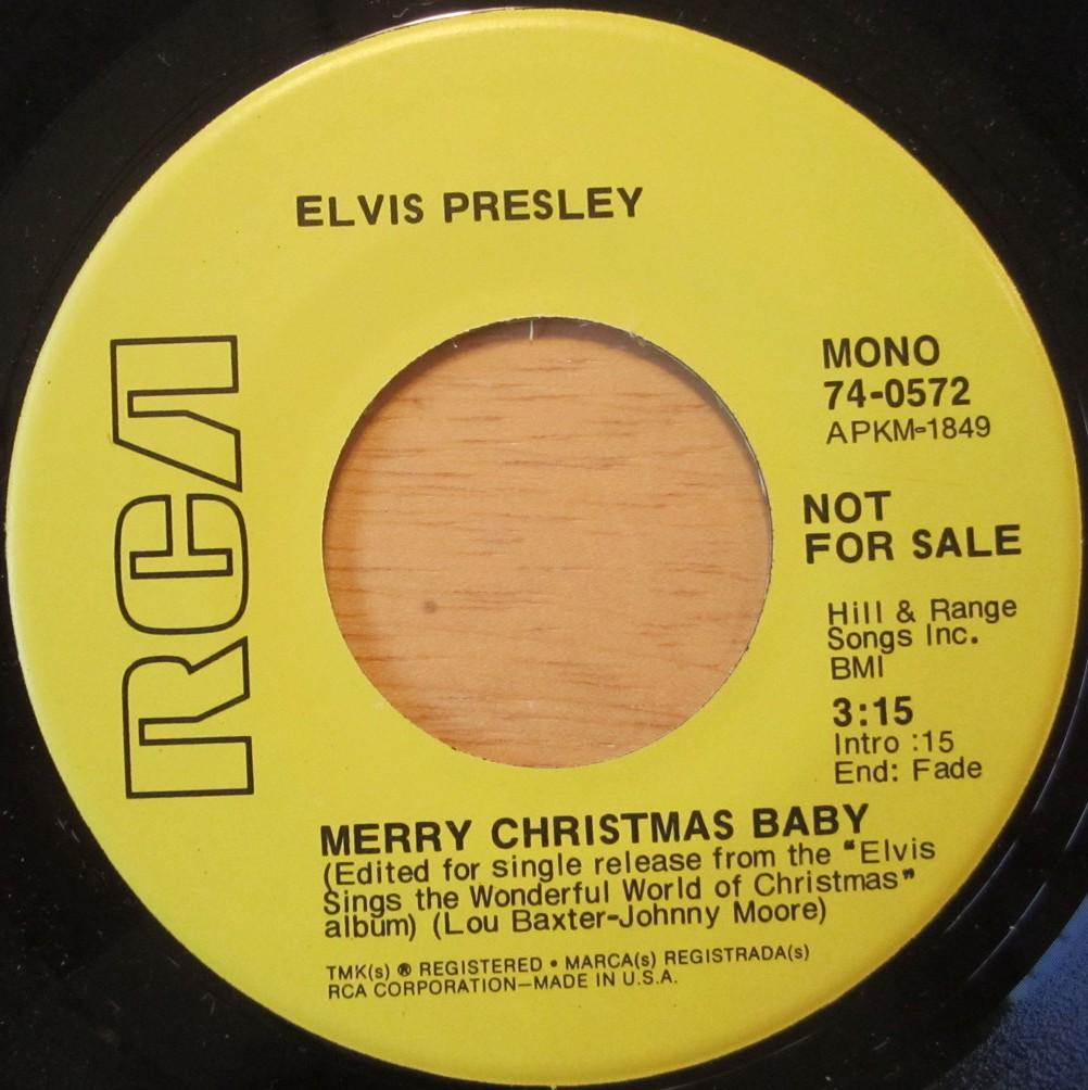 Merry Christmas Baby / O Come All Ye Faithful 74-0572bpfud4