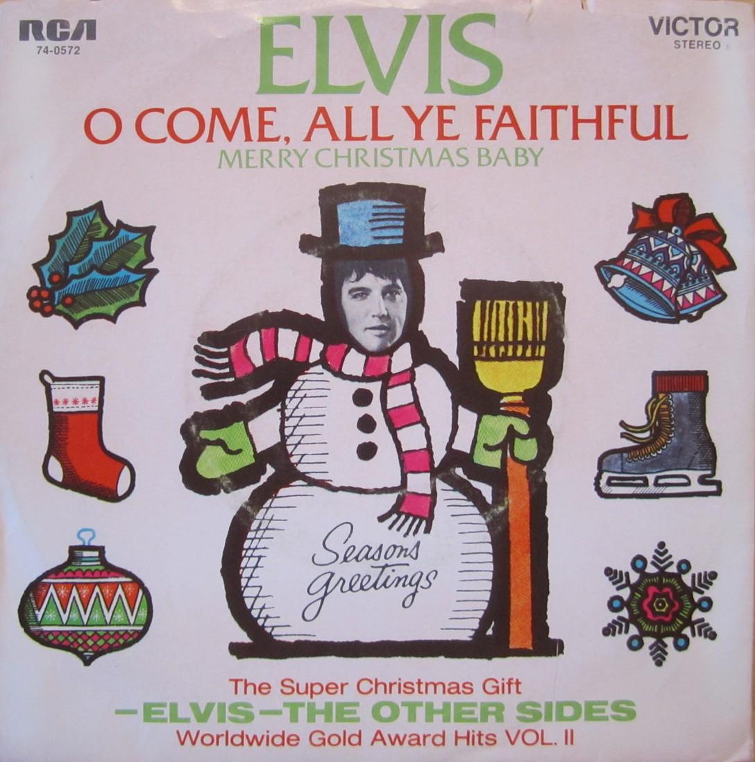 Merry Christmas Baby / O Come All Ye Faithful 74-0572c8uzu