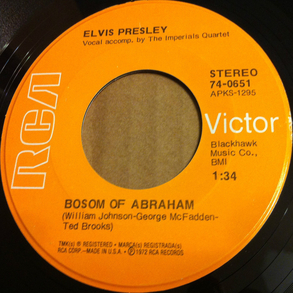 He Touched Me / Bosom Of Abraham 74-0651dtjsmy