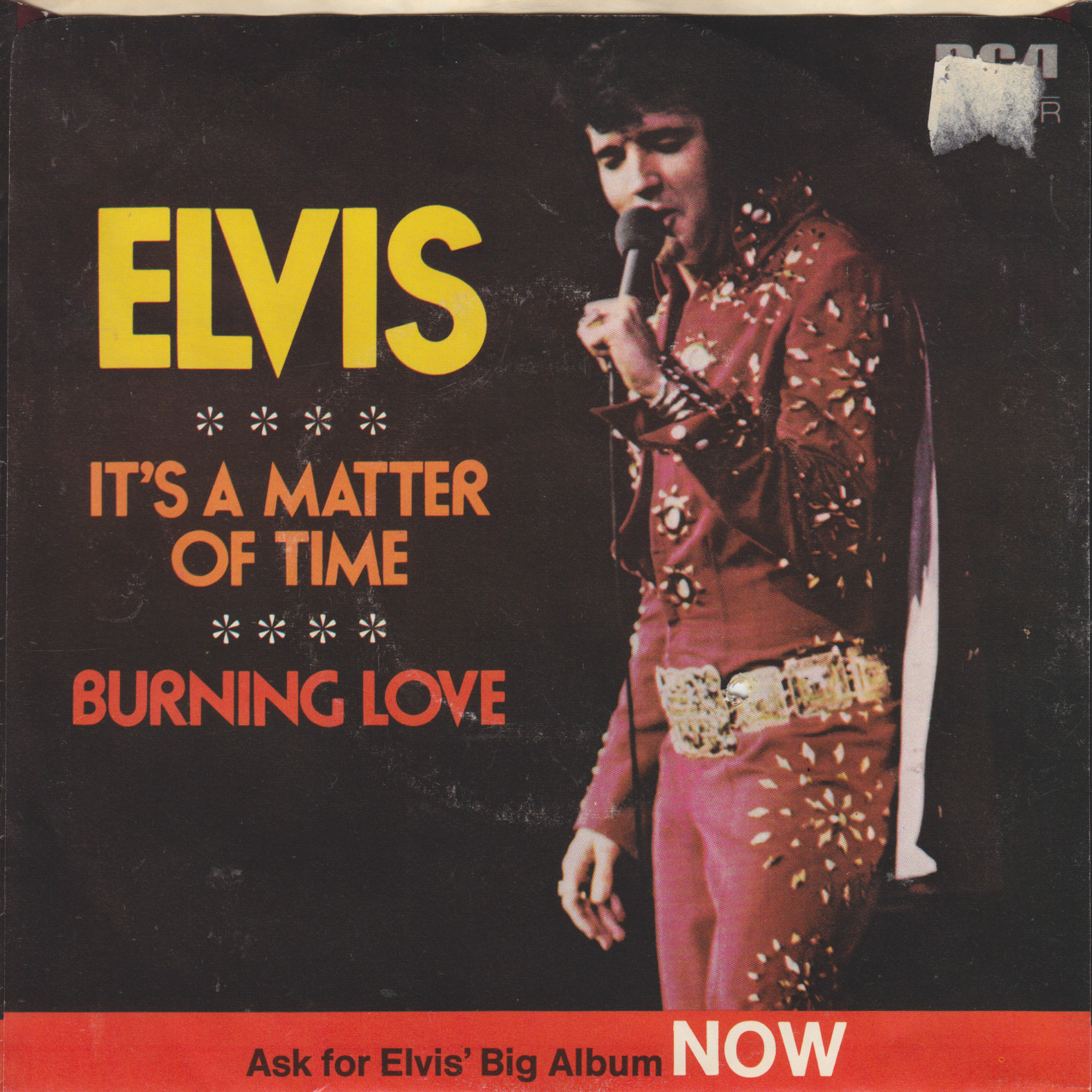 Burning Love / It's A Matter Of Time 74-0769badq31