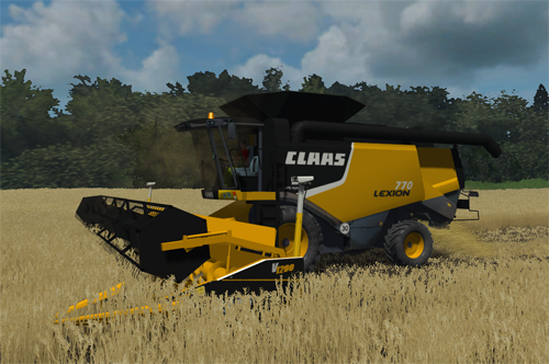 CLAAS Lexion 770 American Version Pack (MP)