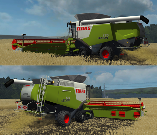 CLAAS Lexion 770TT Pack (MP)