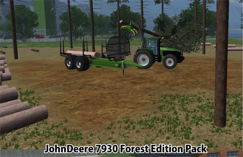 JohnDeere 7930 Forest Edition ModPack