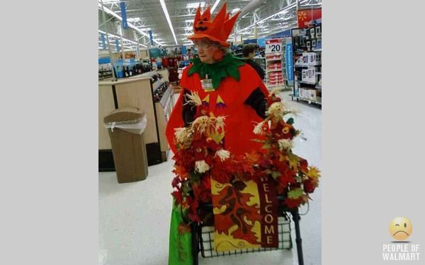 Najdziwniejsi klienci z WalMart #16 29