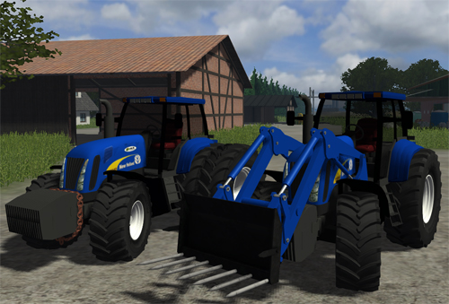 New Holland T8040 Pack