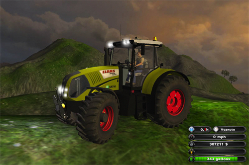 CLAAS Axion 850 v1.1 (MP)