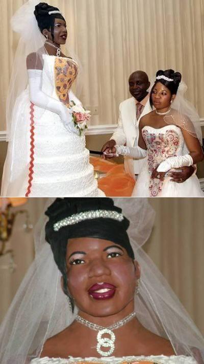 Nietypowe torty ślubne 10