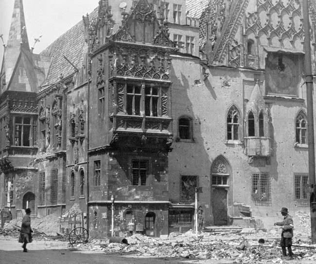 Wrocław  1945 Zniszczenia 116