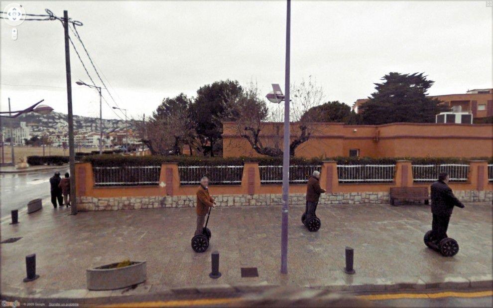 Nietypowe sceny z Google Street View 26
