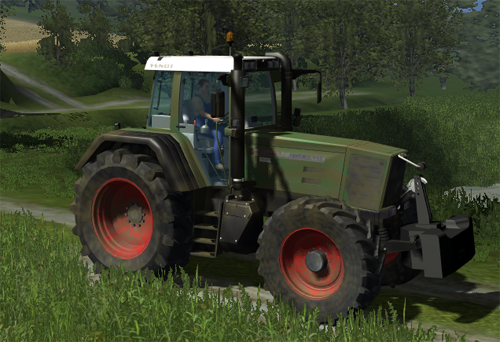 FENDT 926 Favorit Dirty
