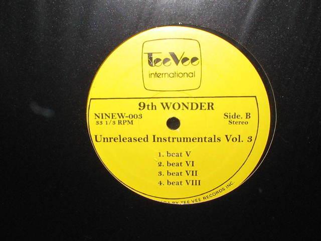 9th Wonder – Unreleased Instrumentals Vol. 3 (2005) (320 kbps)