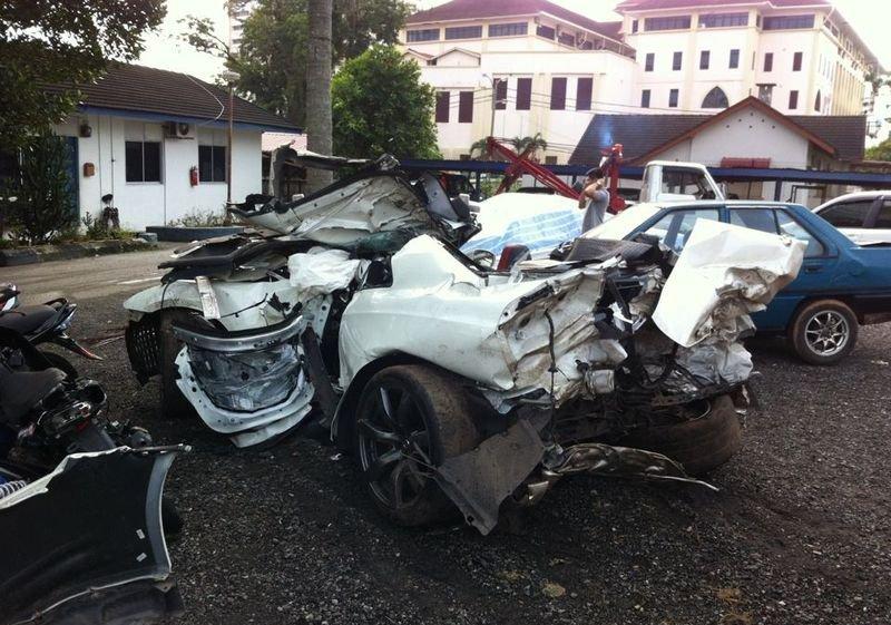 Wypadki najdroższych samochodów #2 16