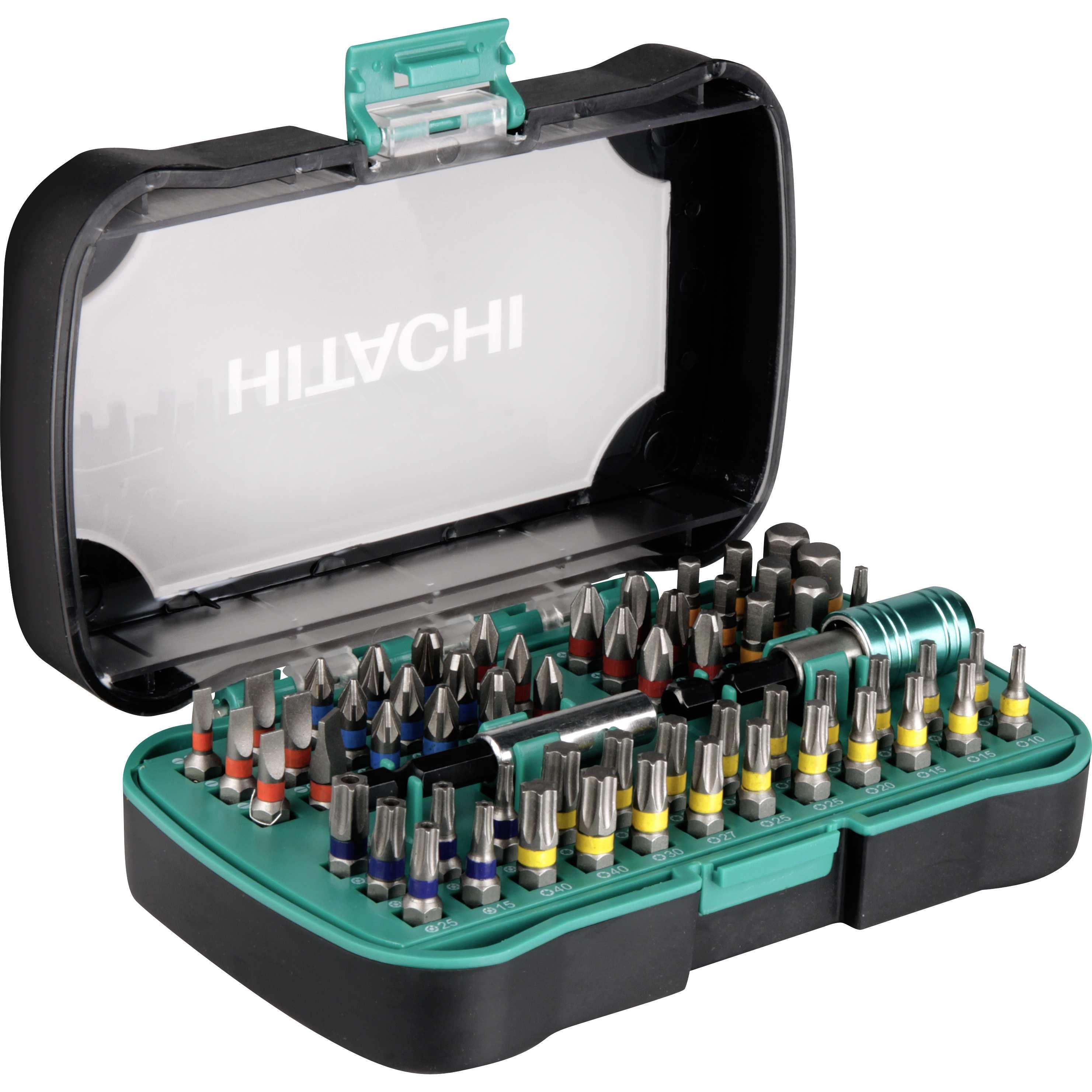 ebay WOW: Hitachi - 60-teiliges Schrauberbit Set mit Farbcodierung für 16,90€ inkl. Versand - für Heimwerker!