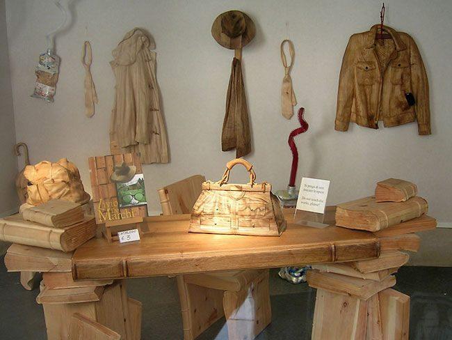 Niezwykłe rzeźby z drewna 14