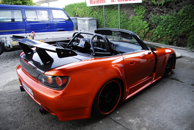 how to clean honda s2000 soft top