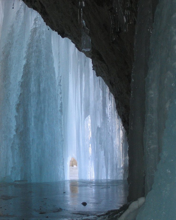 Lodowe jaskinie 3