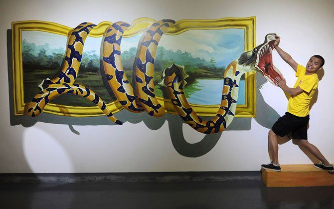 Iluzje optyczne w muzeum #2 2