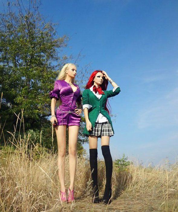 Dziewczyny przypominające lalki #2 9