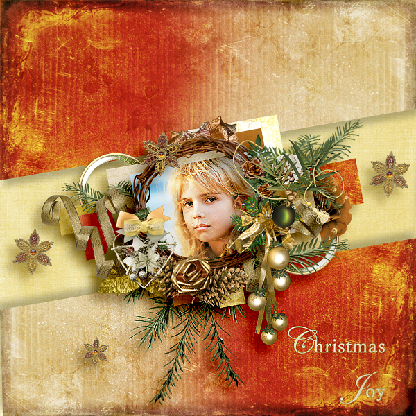 Christmas steps 4. - December 1th- Shabby Pickle Designs A-christmas-in-goldh4uyu