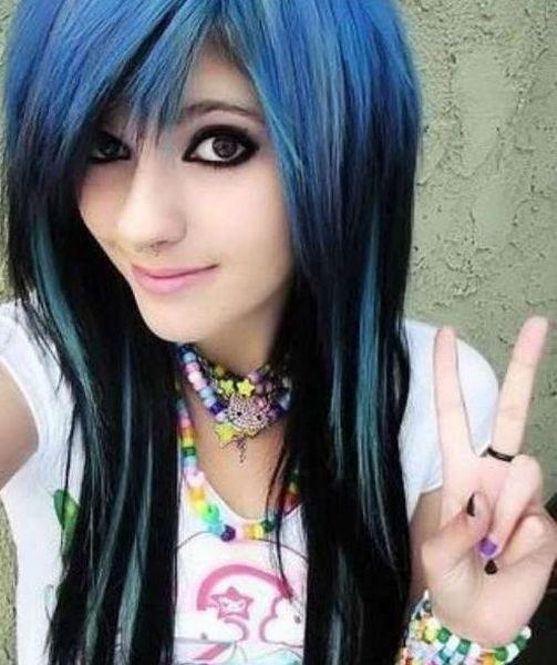 Kolorowe włosy 17