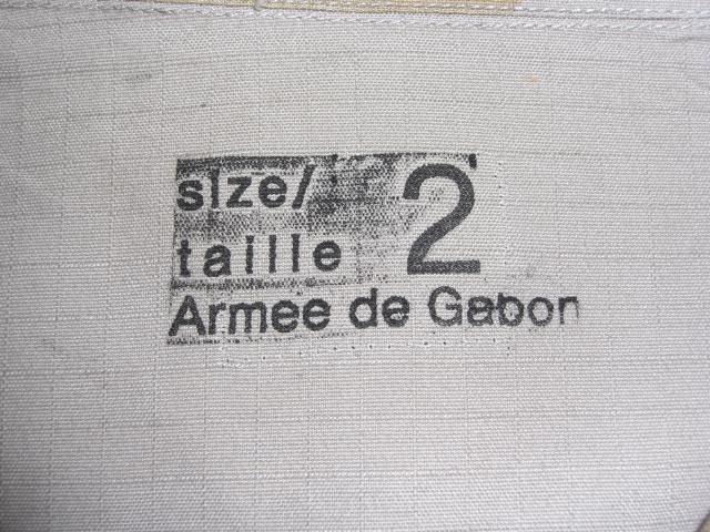 """Gabon """"T-Pattern"""" Aaa0056xco"""