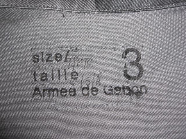 """Gabon """"T-Pattern"""" Aaa00926rl"""