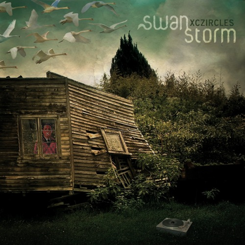 Cover: Aamir and Xczircles - The Quiet After The Storm-Swan Storm-2CD-2011-FTD