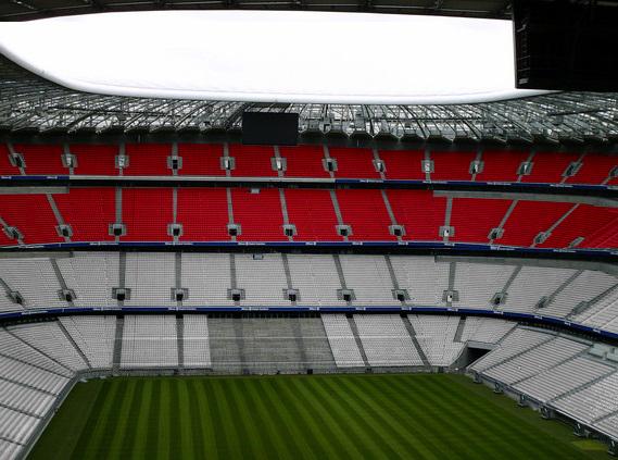 FC Bayern München Arena Stuhl