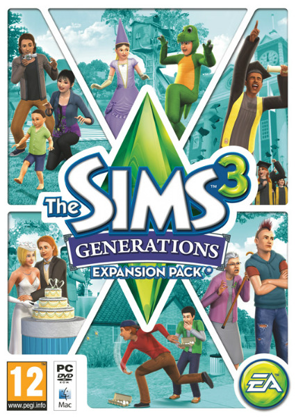 The Sims 3 Generations (2011) PL RELOADED + crack