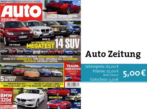 Auto Zeitung im Prämienabo