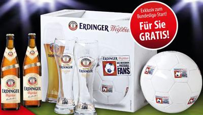 Gratis ERDINGER Fan-Paket