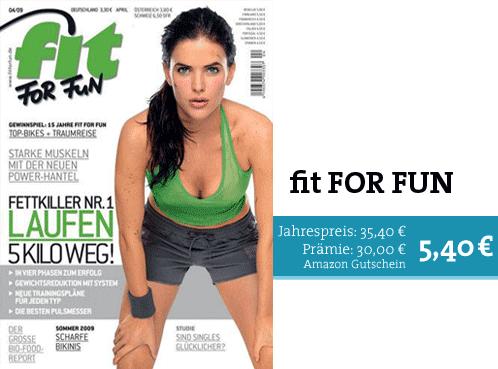 fit FOR FUN - Dein persönlicher Coach für ein aktives Leben!