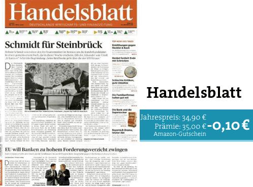 Mini-Abo Handelsblatt