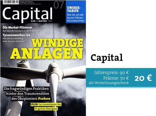 Wirtschaftszeitung Capital