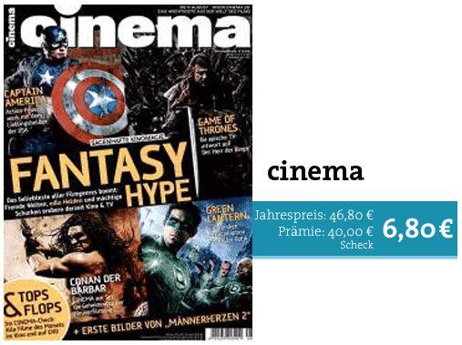 Kinozeitschrift cinema