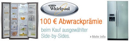 Abwrackprämie Bauknecht Whirlpool