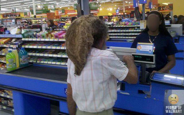 Najdziwniejsi klienci z WalMart #8 2