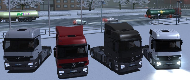 Actros 1844-1841 Version 2.0