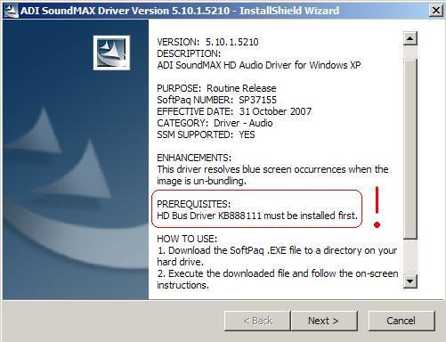 Microsoft UAA High Definition Audio Bus Driver - Seite 3