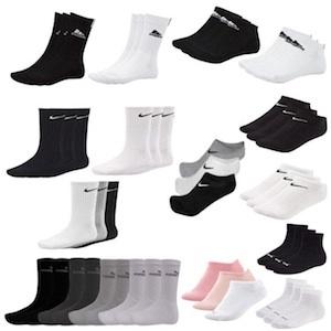 9 Adidas / Nike / Puma Socken