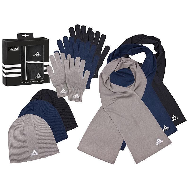 ebay: ADIDAS Strick Set: Beanie, Schal + Handschuhe in drei verschiedenen Farben für nur 24,99€ inkl. Versand!
