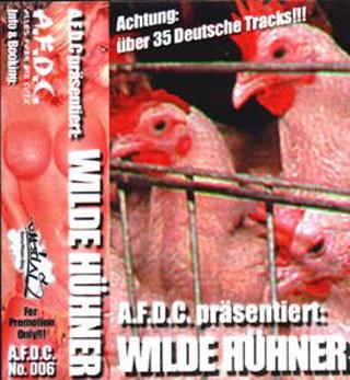Cover: VA - Alles Fuer Die Cuts Wilde Huehner-TAPE-DE-1999-NOiR